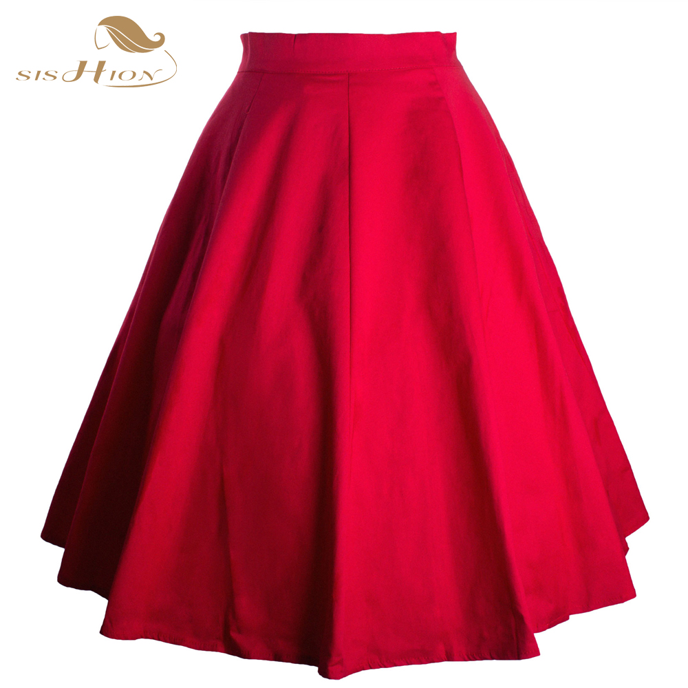 Short Red Skirt | Jill Dress