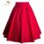 SISHION Plus Size Curto Verão Saia Preto Azul Vermelho para As Mulheres 2017 saias tutu saia swing vestido de baile roupas femininas vintage 0178