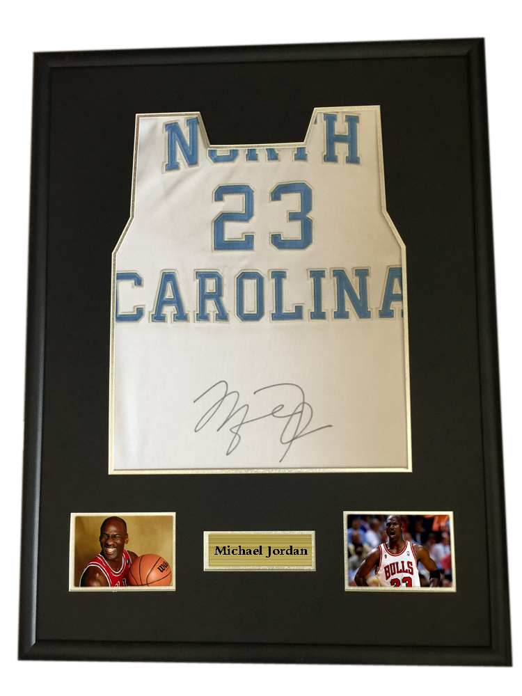 Michael Jordan signed autographed basketball shirt jersey come with ...