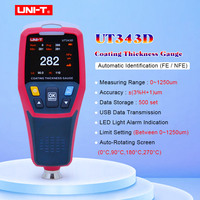 Thickness Gauge,UNI T UT343D Digital Coating Gauge Meter Thickness Tester Car Detector Automotive Coating Car Paint Tester Meter