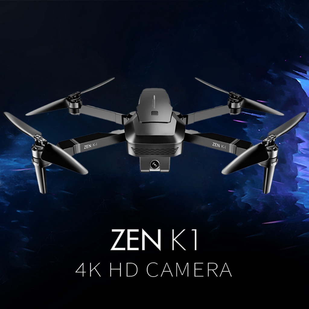 VISUO ZEN K1 GPS 5G Wifi FPV 4K 720P Dual Camera Brushless Foldable RC Drone RTF