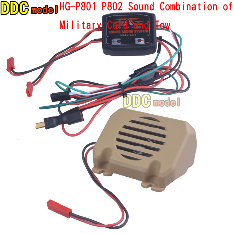 WE8021 RC Auto Motor Sound System Set für HG 1//10 1//12 P402 P407 P601 P801 P802
