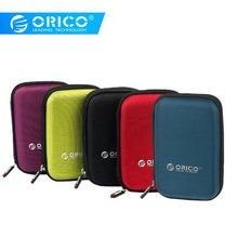ORICO 2 5 Cal dysk twardy HDD torba Case przenośny dysk twardy torba na zewnętrzny przenośny dysk twardy dysk twardy HDD etui do przechowywania ochrony czarny czerwony niebieski tanie tanio Neoprenu 2 5 HDD Protection Bag Black Red Green Purple Blue Interlayer design 160*110*38mm Wsparcie