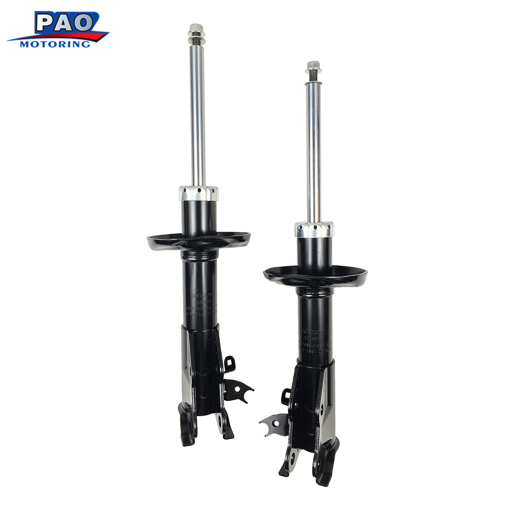 2PC New Front Strut Shock Absorber Left and Right Pair Set Fit for 2006-2011 Honda Civic Coupe & Si Models OEM 72285,72284 car new pair left