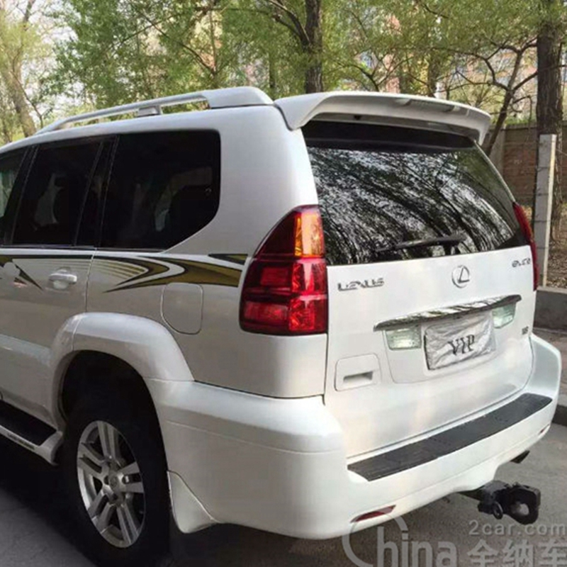 2003 2004 2005 2006 2007 2008 2009 GX470 Factory Style Spoiler w//LED UNPAINTED