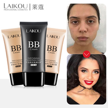 LAIKOU 3 Colors BB Cream Face Foundation Make Up Concealer Makeup Skin Care Natural Moisturizing Liquid Whitening Cosmetics Tan