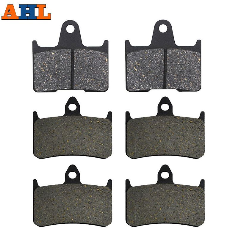 Motorcycle Front and Rear Brake Pads For Honda X4 CB1300D ( SC38 ) CB 1300 1997 1998 1999 2000(China)