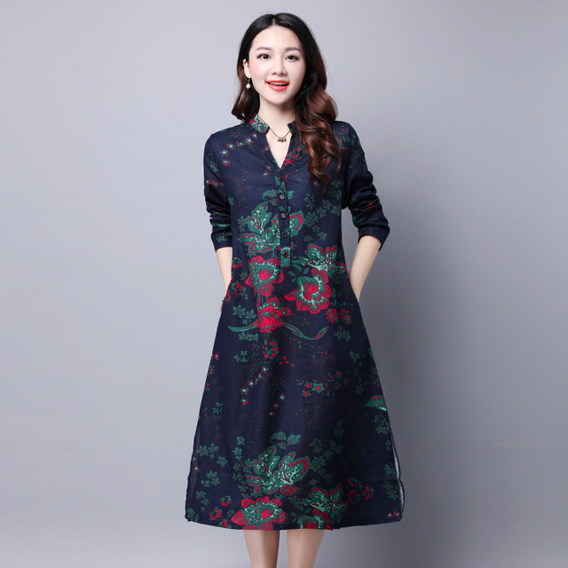 Jane A- Line Spring Dress