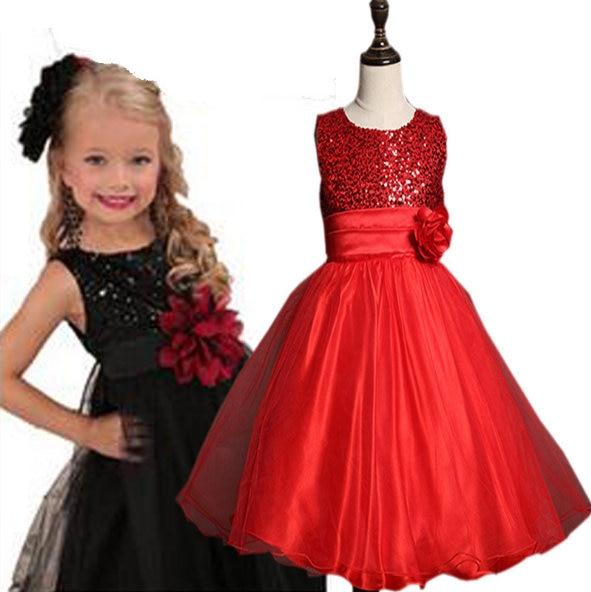 b1abee3bc1a41 CQ 144 robe d été pour enfants 2016 robe de mariée pour filles mariée enfant  costume enfants vêtements filles robe de soirée robe de soirée dans Robes de  ...