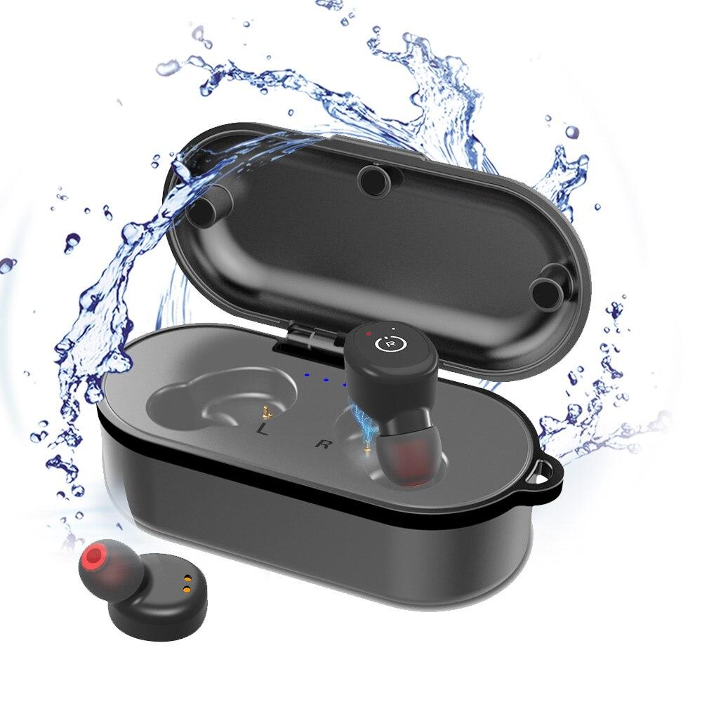 ELE dans l'oreille sans fil Bluetooth étanche Portable sport Auriculares écouteurs oreille crochet avec micro pour téléphone