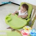Infantil cadeira mesa cadeira de jantar do bebê multifunções portátil cadeiras dobráveis cadeiras ajustáveis para comer