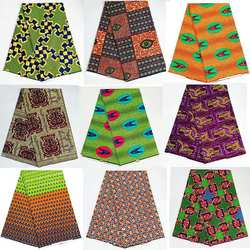 Ventilador eléctrico tela de impresión de cera Africana alta calidad africano nigeria ankara tela de costura de cera holandesa Real