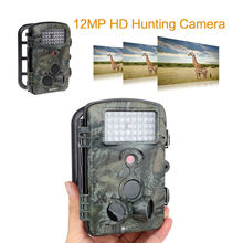 Free Shipping!RD1000 HD 12MP 850NM Waterproof Hunting Trail Camera Infrared IR Caccia Video Camera Digitali Scouting Camera