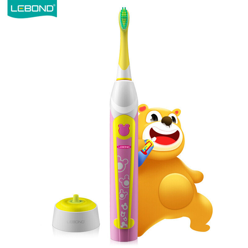 LEBOND Sonic Electric Toothbrush Rechargeable YOYO Classic Portable Traveling Waterproof For Kids Children Ages 4+ 2pcs philips sonicare replacement e series electric toothbrush head with cap