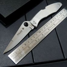 New C07P folding knife 9cr18mov blade C07 knife stainless steel Handle outdoor camping pocket knife