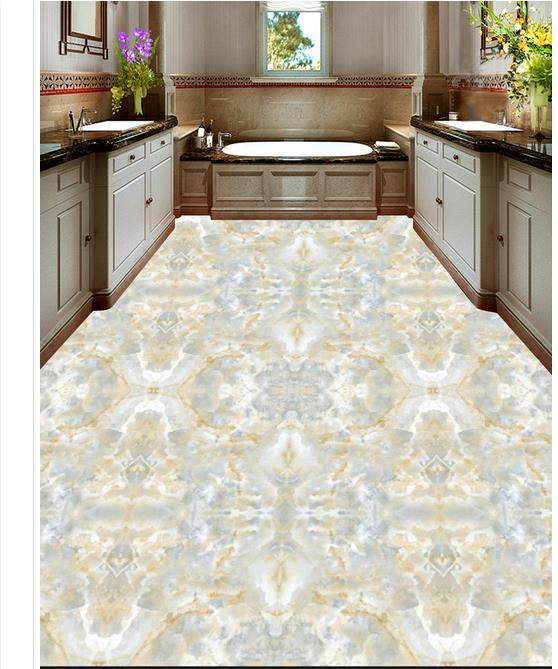 Custon 3d wallpaper 3d flooring wallpaper wall sticker Europe type ceramic tile marble 3 d floor home decor european carpet 3d flooring mural wallpaper marble parquet 3d stereoscopic wallpaper 3d floor paintingself adhesive wallpape