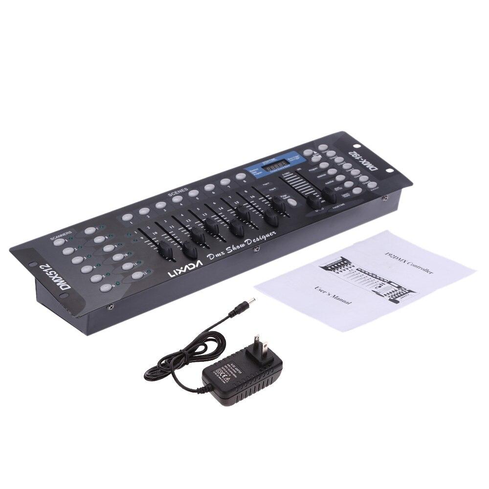 dmx512 controlador console para palco festa luzes