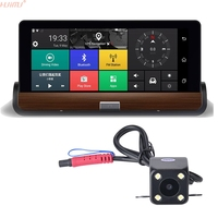 7 3G 1080P Dash Board Car DVR Android 5 0 Car Rear View Mirror Monitor Recorder