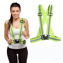 Adjustable Bicycle Safe Reflective Safety Vest for Construct