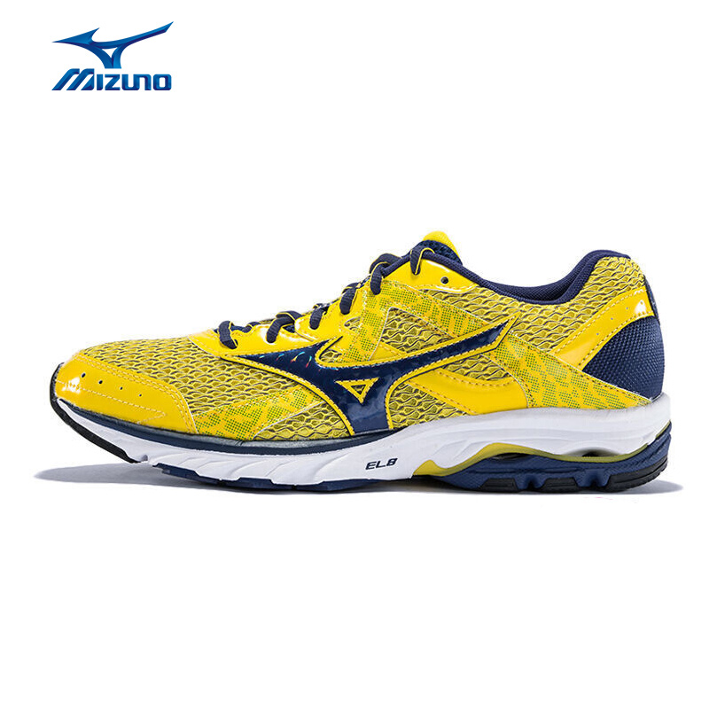 MIZUNO Men WAVE ELEVATION 2 Mesh Breathable Light Weight Cushioning Jogging Running Shoes Sneakers Sport Shoes J1GR151775 XYP298 цена