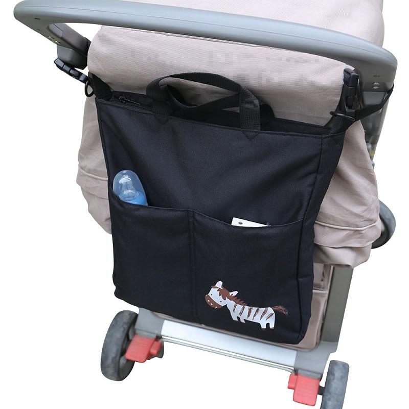 Új márka JOYREN Cartoon Baby babakocsi szervező Kiegészítők Nagy kapacitású vízálló Bebe kocsi táska babakocsikhoz KF095