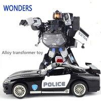 Liga de alta qualidade Robocar Robô Transformação Brinquedos Do Carro Liga Ônibus Deformação Robô Brinquedos Para Crianças crianças brinquedos De Natal