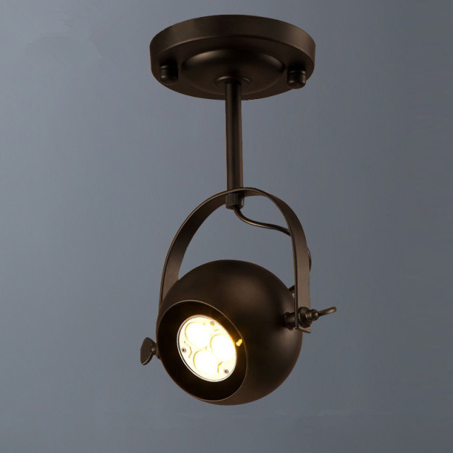 Vintage Ceiling Lights Led Spot Lighting Ceiling Lamp Loft Cloth - Kitchen spot light fittings