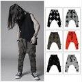 Kikikids Unisex NUNUNU cruz & calças estrela padrão W / 6 cores criança roupas, Crianças Girls & Boys Harem Pants com cintura alta bos