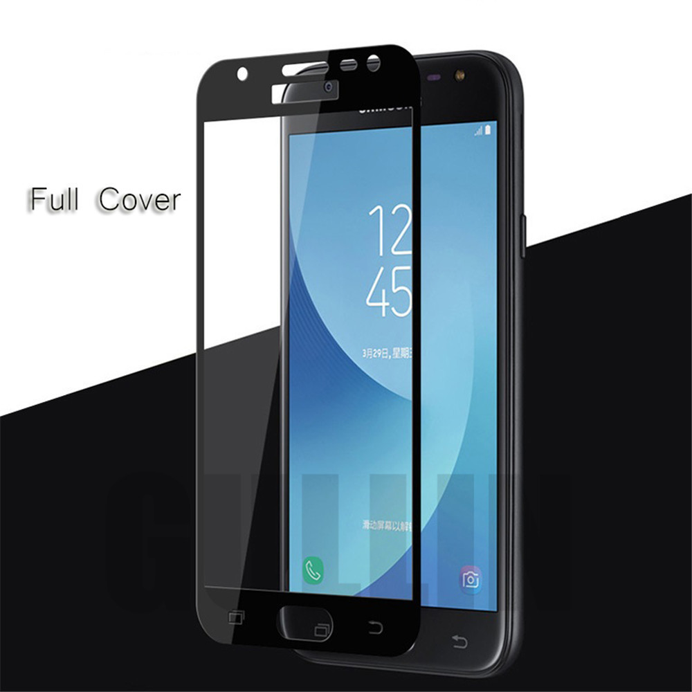 0 23mm Real Tempered Glass For Samsung Galaxy A3 A5 A7 2016 2017 Full Cover Screen Protector Film For Samsung J2 J3 J5 J7 Prime in Phone Screen Protectors from Cellphones Telecommunications