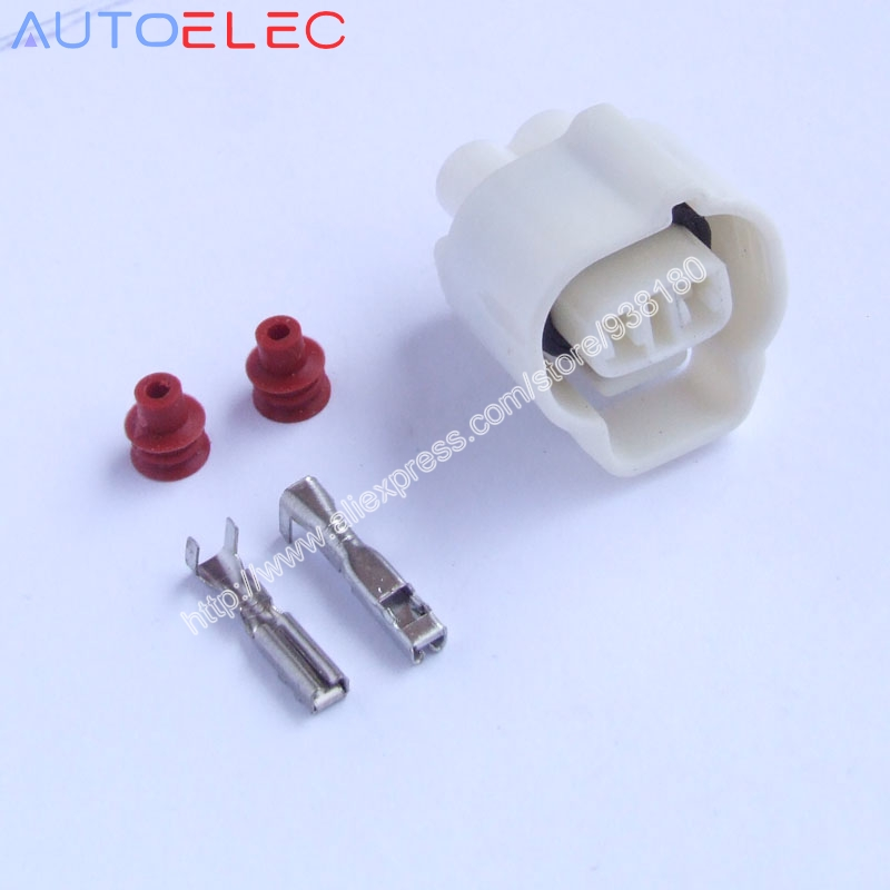 Connectors Sporting 100sets 2pin/way Car Waterproof Wire Connector Plug 2.0mm Auto Waterproof Electrical Connector Kit Forfog Lamp Plug For Sgmw Long Performance Life