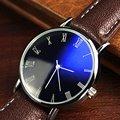 Relógio de quartzo Dos Homens Das Mulheres Relojes Pulseira de Couro Relogio masculino Analógico Relógios De Luxo Em Aço Inoxidável