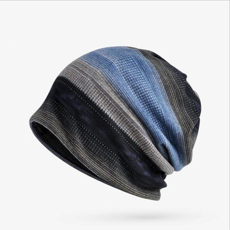 Seioum Winter Hat Women Men Knitted Cap Hat Female Male Winter Caps Men's Knit Hats   Skullies     Beanies   Plus Velvet Warm Ski Hat