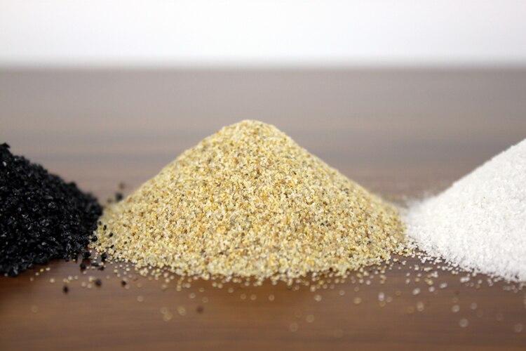 Ada style substrat sable mini nano blanc noir nature aquarium