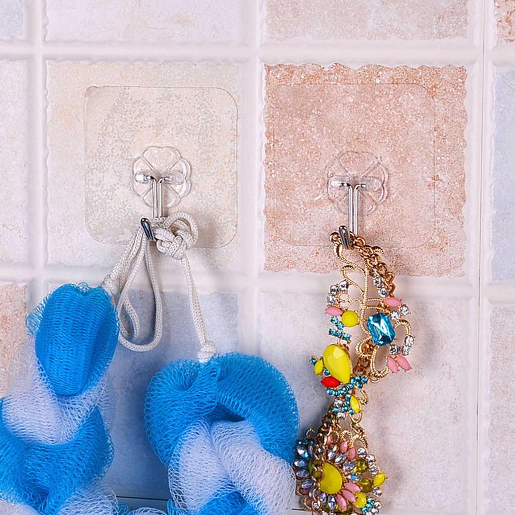 2 adet çıkarılabilir banyo mutfak duvar güçlü vantuzlu askı askıları vakum enayi