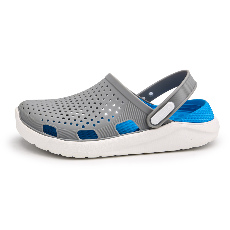 New Mens Leather Mule Sandals Casual Beach Sports Garden