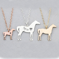 StrollGirl 100% 925 Sterling Silver Personalized customization Lovely Pet Cat Pendant Necklace Pet remembrance necklace Jewelry