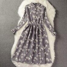 Robe Plissée Femmes Imprimé floral Style ...