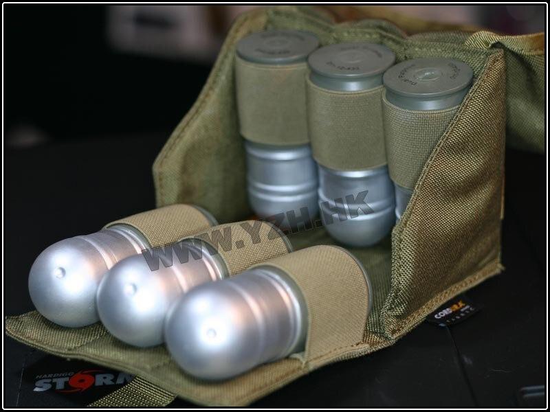 Pochette tactique Emerson SIX paquets pour pochette de Grenade 40 MM équipement de combat airsoft EM8509