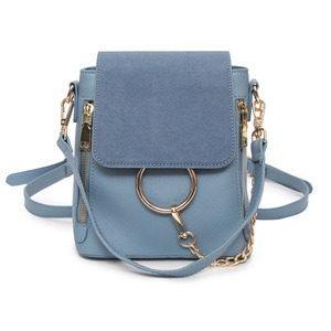 2019 Luxury Chains Backpacks New Women Pu Leather Mini Backpack Brand Designer Small School Bag Ladies Travel Bag Bolsa Feminina