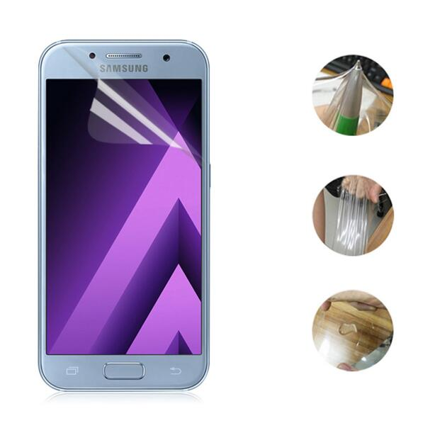 2017A5 2017A7 Ekran arxa filmi Clear Samsung Ultra 2017 A5 A7 S6 S7 - Cib telefonu aksesuarları və hissələri - Fotoqrafiya 2