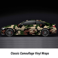 Wholesale Coffee color camo vinyl wrap Film With Air Free Vehicle Graphics Size: 1.52*5/10/15/20/25/30 Meters