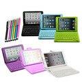 For soft 3d iPad mini case Беспроводная Bluetooth Клавиатура ИСКУССТВЕННАЯ Кожа Стенд Case Cover For iPad Mini 1 2 3 4 + Бесплатная Стилус ручка