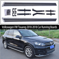 JIOYNG For Volkswagen VW Touareg 2010 2018 Car Running Boards Auto Side Step Bar Pedals Brand New Nerf Bars OEM style