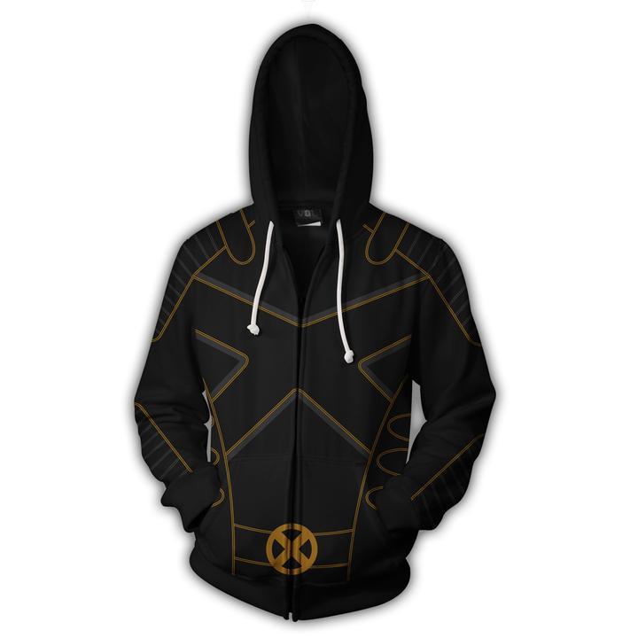 2018 Autumn Winter 3D Print Deadpool 2 x-men Men Sweatshirts Hoodies Fashion Cosplay Casual Zipper hooded Jacket clothing
