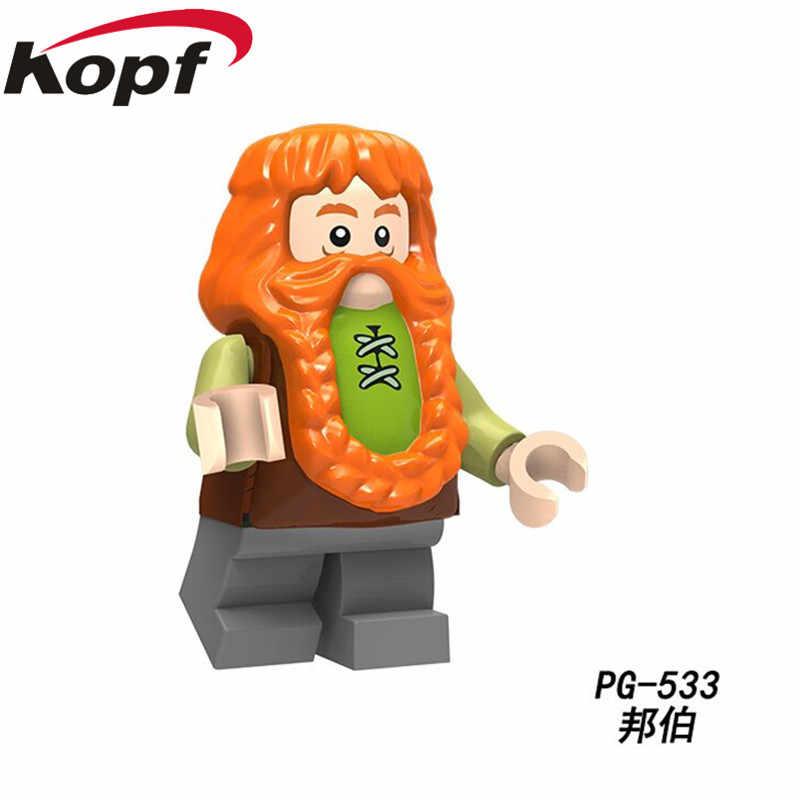 PG8149 Enkele Verkoop Super Heroes Bricks Lord Van De Ringen Sterke Orc Bilbo Azog Onderwijs Bouwstenen Voor Gift Kinderen speelgoed