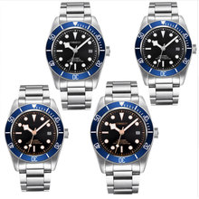 Corgeut Luxury Brand Sapphire Glass Military Mechanical Watch Men Automatic Miyota Design Clock SS Mechanical Wrist Watches цены