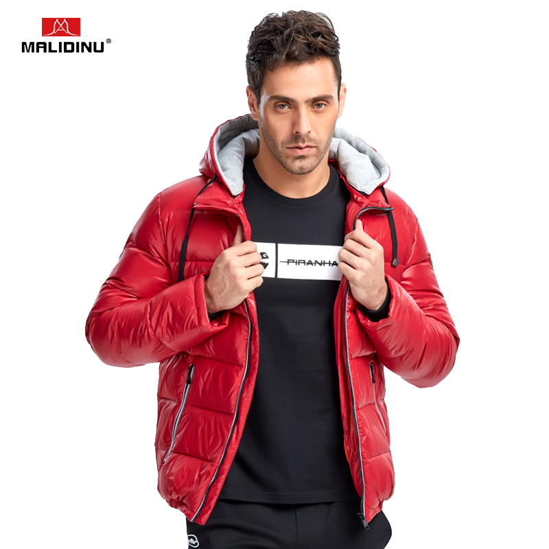 MALIDINU 2020 New Men Down Jacket Winter Jacket Mens 70%White Duck Down Winter Down Coat Thick Warm Coat Brand Free Shipping