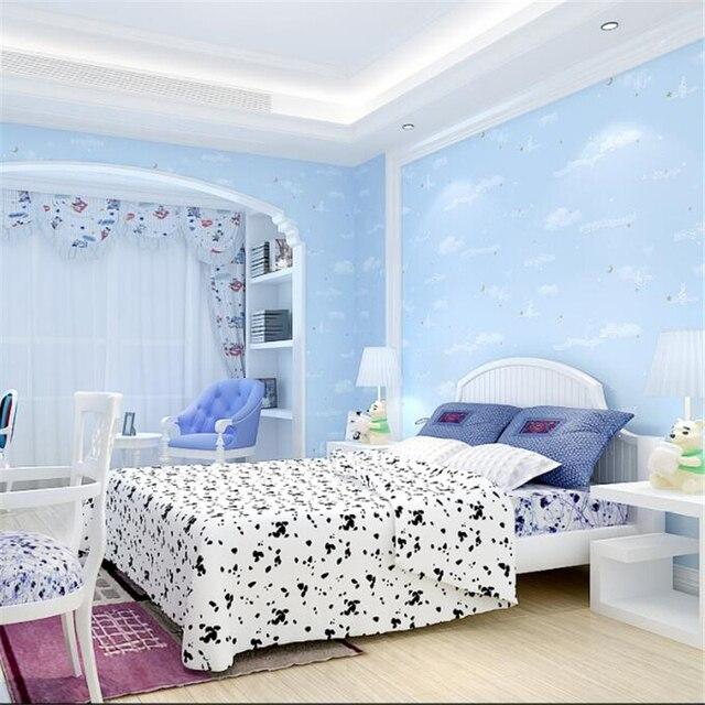Moderne kind tapete schlafzimmer rosa gelb musik wort symbol wohnzimmer TV  hintergrund wand sterne Beibehang