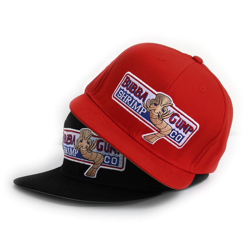 VORON 1994 Bubba Gump Shrimp CO. Baseball Hat Forrest Gump Costume Cosplay Embroidered Snapback Cap Men&Women Summer Cap anime pocket monster flareon cosplay cap orange cartoon pikachu ladies dress pokemon go hat charm costume props baseball cap