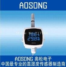 AOSONG  Aosong إلكترونيات درجة الحرارة والرطوبة الاستشعار درجة الحرارة والرطوبة الارسال شبكة AQ3485Y RS3485